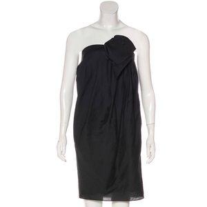 3.1 Phillip Lim Strapless Black Orchid Dress